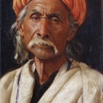Bakshiram (1886) by Rudolph Swoboda, oil on panel, 260 x 159 mm. Royal Collection Trust / © Her Majesty Queen Elizabeth II 2015