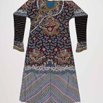 Man's dragon robe, silk with silk and metal-wrapped thread embroidery, circa 1821-1850, China. Gift of Colonel & Mrs John Young