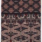 Man's mantle, cotton, warp ikat, 20th century, Indonesia. Gift of the Christensen Fund