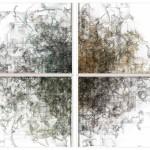 oscillating continuum (2013), sculpture, Installation photo, Turbulences II, Villa Empain, Brussels