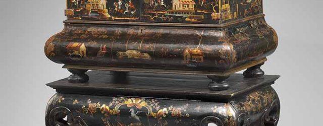 Desk on stand, 18th century, Jose Manuel de la Cerda (Mexican), Hispanic Society of America