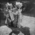 Légong pangipuk (love dance). Photo by Walter Spies courtesy Water Spies Foundation, the Netherlands