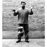 Ai Weiwei, Dropping a Han Dynasty Urn, 1995, 3 black and white prints, each 148 x 121 cm. Courtesy of Ai Weiwei Studio. Image courtesy Ai Weiwei © Ai Weiwei