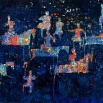 Hunting the Night, 2015 by Reza Derakshani. Courtesy of the artist and Sophia Contemporary