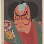 Study of the actor Nakamura Kichiemon as Otokonosuke (1926) by Natori Shunsen, woodblock print, ink and colour on paper,gift of Ellen and Fred Wells