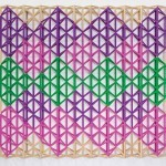 Al-GhazaliAl-GhazaliAl-GhazaliAl-Ghazali (2010-11) by Rasheed Araeen (Pakistan), acrylic on canvas. Courtesy of the artist. Photo: Vipul Sangoi
