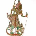 Rama, Kelantan, Malaysia; hide, wood, bamboo, mid-20th century © The Trustees of the British Museum