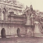 Pugahm Myo: Carved Doorway of Shwe Zeegong Pagoda, 1855, 32 x 26.9 cm