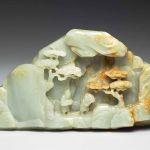 Miniature mountain, shanzi, Qing dynasty (1644-1911), Qianlong period (1736-1795). Musée national du Palais, Taipei, Guyu 2880 © Musée national du Palais, Taipei