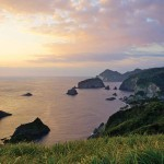 Cape near Irozaki on the southern tip of Izu
