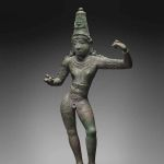 Rama, 1000-1100, Tamil Nadu state, India, Chola period, copper alloy, Asia Society Museum, Mrs. John D. Rockefeller 3rd Collection of Asian Art, New York