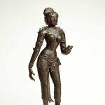 Sita, 1000-1100, Tamil Nadu state, India, Chola period, bronze, Linden-Museum, Stuttgart