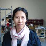Ma Qiusha in her Beijing studio