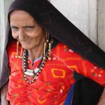 Rabari woman in Kutch, Gujarat, India, 2012. Photo: Thomas K Seligman