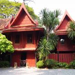 The exterior of Jim Thompson's house today