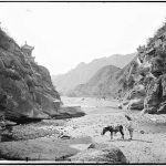 Nankou Pass, Beijing 1871-72 Nankou Pass or the southern entry, is situated in Changping county in the suburb of Beijing. Sandwiched between two high mountains, it has been of strategic importance throughout history. From here one can see the first spur of the Great Wall. The Pass is very rocky and rough and for centuries, donkeys were the beasts of burden traders used for transporting goods through and beyond the Pass.