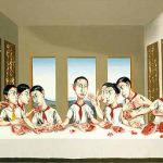 The Last Supper (2001) by Zeng Ganzhi. Private Collection