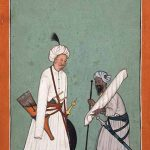 An Archer and his Servant, Mandi, India, 18th century, tempera on paper, Rob Dean Art