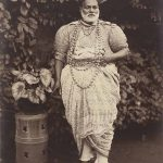 Kandyan Chief by Scowen & Co, circa 1880-90, albumen silver print, 26 x 19.7 cm, gift of Gloria Katz and Willard Huyck