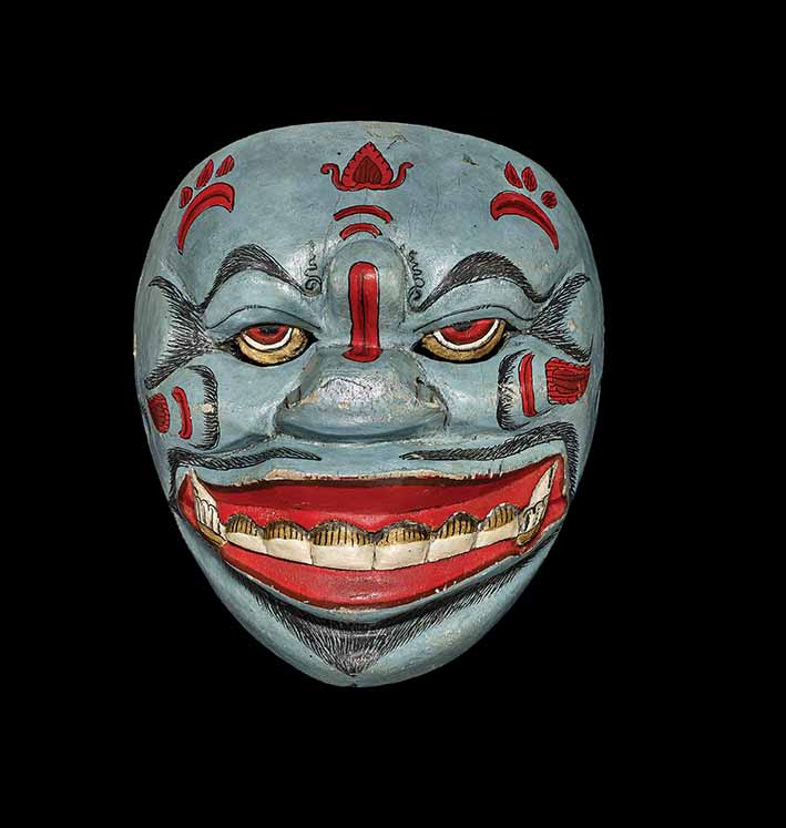 The demon Denawa Kecubung, late 1700s or early 1800s, Central Java © The Trustees of the British Museum