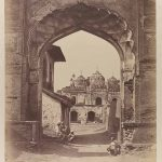 In the mosque of the Red Fort, Delhi Felice Beato, 1858