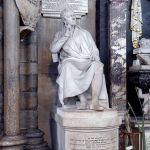 The Raffles monument by Sir Francis Chantrey in Westminster Abbey. Photo courtesy of the Dean and Chapter of Westminster Abbey, London