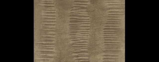 Marcos Grigorian, Untitled, n.d. Sand and enamel on canvas H. 30 x W. 25 in. (76.2 x 63.5 cm) Grey Art Gallery, New York University Art Collection Gift of Abby Weed Grey, G1975.570