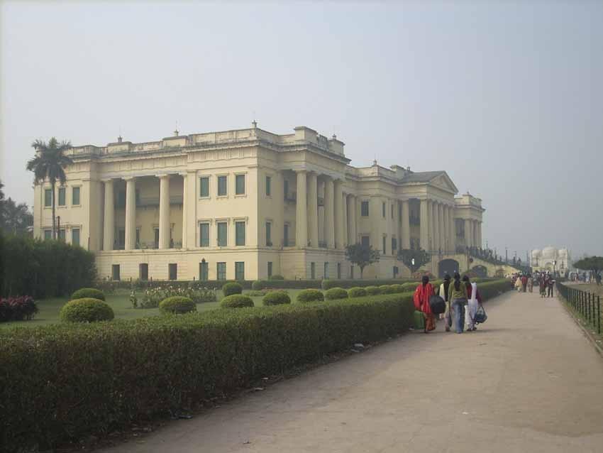 Murshidabad's Hazarduari Palace at dawn. Photograph: Neeta Das