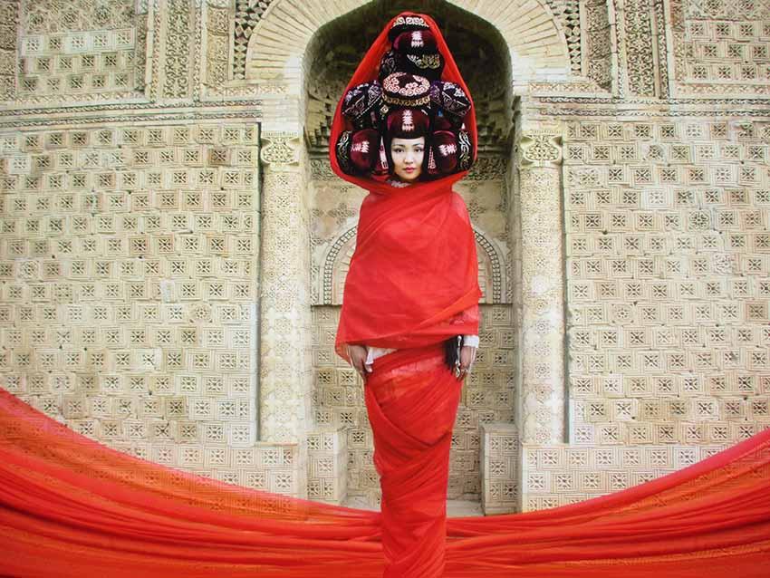 "Almagul Menlibayeva, ""Red Butterfly"", 2012 Duratrans Impression in Lightbox"