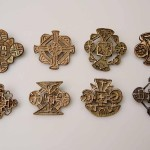 Some examples of the displayed Nestorian crosses with different cruciform shapes and geometric patterns