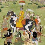 Rama returns in victory to Ayodhya, Pahari (Punjab Hills), Kangra, circa 1780-1790 © The Fitzwilliam Museum, University of Cambridge