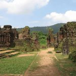 My Son Sanctuary, ruined Cham Hindu temples, 4th to 13th centuries, Champa period, UNESCO World Heritage Site (from 1999). Photo: Denise Heywood