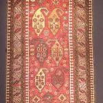 Carpet with buta motif, Karabakh group, Azerbaijan, early 20th century, wool, pile woven 127 x 270