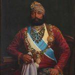 Portrait of Maharaja Jaswant Singh II by Bert Harris, 1895, oil on canvas, Umaid Bhawan Palace