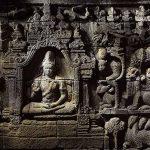 Maitreya Buddha preaching in the world of animals