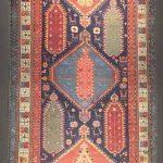Shikhli carpet, with tree of life motif, Gazakh group, Azerbaijan, early 20th century, wool, pile woven, 133 x 306 cm