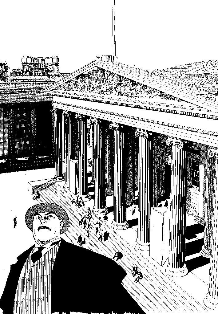 Manga, Professor Munakata's British Museum Adventure, 2011, by Hoshino Yukinobu © Yukinobu Hoshino/Shogakukan Inc