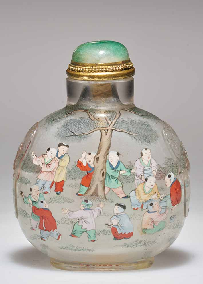 Chinese Snuff Bottles Asian Art Newspaper