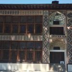 The glittering façade of the 18th-century Khan's Palace (Summer Palace) in Sheki