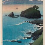 Kude Beach in Wakasa Province by Kawase Hasui, 1920, from the series Souvenirs of Travel I