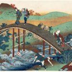 Ariwara no Narihira ason (Ariwara no Narihira ason) (1835-1836) by Katushika Hokusai, from the series One Hundred Poems Explained by the Nurse (Hyakunin isshu uba ga etoki), oban, 258 x 371 mm, colour woodblock print (nishikie), publisher: Iseya Sanjirō (Eijudo), Museum of Fine Arts, Boston – William Sturgis Bigelow Collection