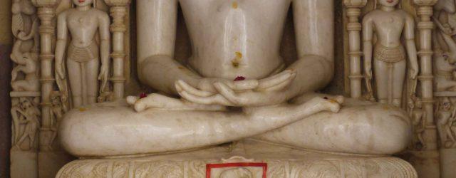 Marble Jina at Rakanapur temple